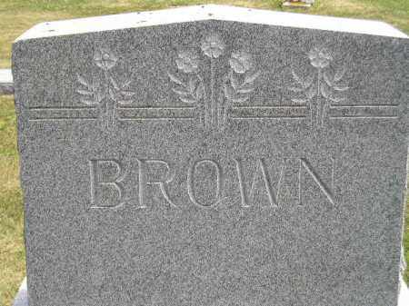 BROWN, FAMILY STONE - McCook County, South Dakota | FAMILY STONE BROWN - South Dakota Gravestone Photos