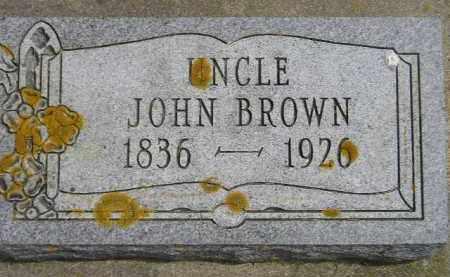 BROWN, JOHN - McCook County, South Dakota | JOHN BROWN - South Dakota Gravestone Photos