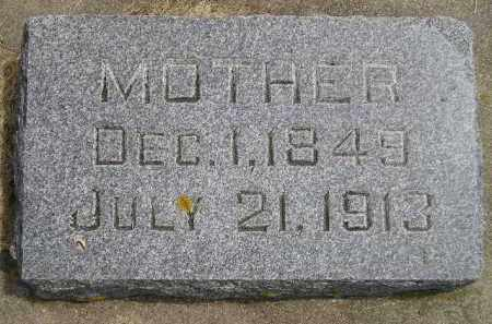 BROWN, MOTHER - McCook County, South Dakota | MOTHER BROWN - South Dakota Gravestone Photos