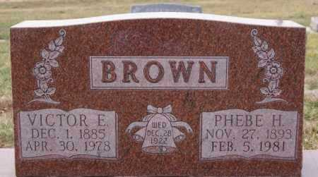BROWN, PHEBE H - McCook County, South Dakota | PHEBE H BROWN - South Dakota Gravestone Photos