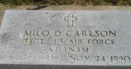 CARLSON, MILO D. (MILITARY) - McCook County, South Dakota | MILO D. (MILITARY) CARLSON - South Dakota Gravestone Photos
