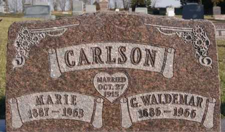 CARLSON, G. WALDEMAR - McCook County, South Dakota | G. WALDEMAR CARLSON - South Dakota Gravestone Photos