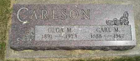 CARLSON, OLGA M. - McCook County, South Dakota | OLGA M. CARLSON - South Dakota Gravestone Photos