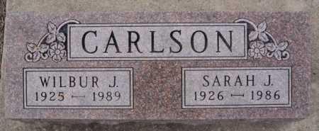 CARLSON, SARAH J - McCook County, South Dakota | SARAH J CARLSON - South Dakota Gravestone Photos