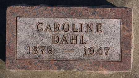 DAHL, CAROLINE - McCook County, South Dakota | CAROLINE DAHL - South Dakota Gravestone Photos