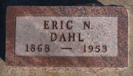 DAHL, ERIC N - McCook County, South Dakota | ERIC N DAHL - South Dakota Gravestone Photos