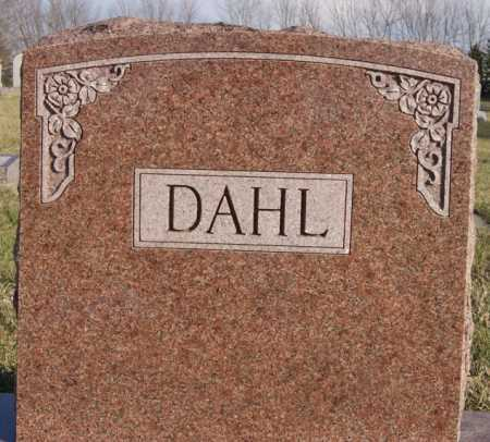 DAHL, FAMILY MARKER - McCook County, South Dakota | FAMILY MARKER DAHL - South Dakota Gravestone Photos