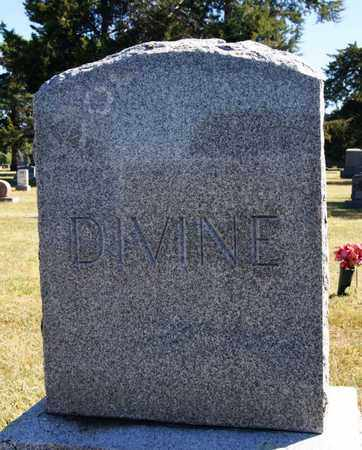 DIVINE, FAMILY MARKER - McCook County, South Dakota   FAMILY MARKER DIVINE - South Dakota Gravestone Photos