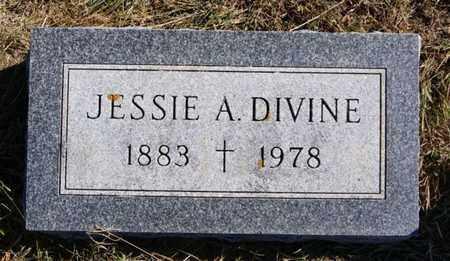 DIVINE, JESSIE A - McCook County, South Dakota | JESSIE A DIVINE - South Dakota Gravestone Photos
