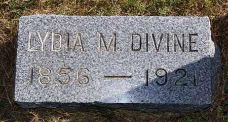 DIVINE, LYDIA M - McCook County, South Dakota | LYDIA M DIVINE - South Dakota Gravestone Photos