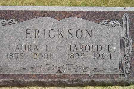 ERICKSON, HAROLD E. - McCook County, South Dakota | HAROLD E. ERICKSON - South Dakota Gravestone Photos