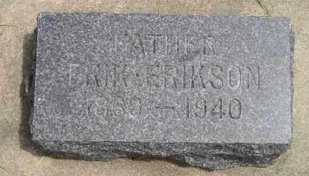 ERIKSON, ERIK - McCook County, South Dakota | ERIK ERIKSON - South Dakota Gravestone Photos