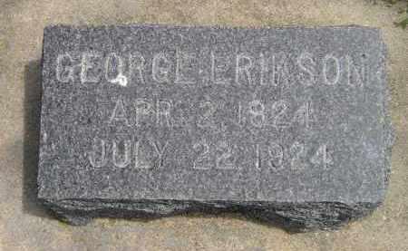 ERIKSON, GEORGE - McCook County, South Dakota | GEORGE ERIKSON - South Dakota Gravestone Photos