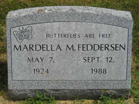 FEDDERSEN, MARDELLA M. - McCook County, South Dakota | MARDELLA M. FEDDERSEN - South Dakota Gravestone Photos