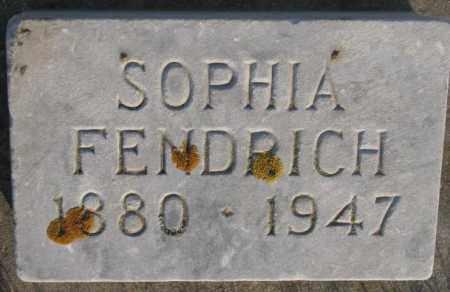 FENDRICH, SOPHIA - McCook County, South Dakota | SOPHIA FENDRICH - South Dakota Gravestone Photos