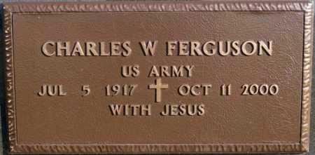 FERGUSON, CHARLES W (MILITARY) - McCook County, South Dakota | CHARLES W (MILITARY) FERGUSON - South Dakota Gravestone Photos