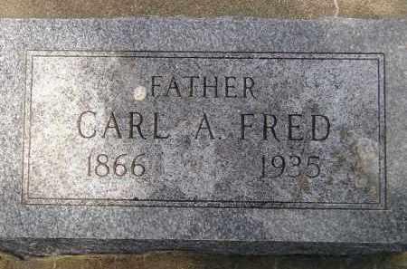 FRED, CARL A. - McCook County, South Dakota | CARL A. FRED - South Dakota Gravestone Photos