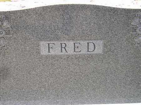 FRED, FAMILY STONE - McCook County, South Dakota | FAMILY STONE FRED - South Dakota Gravestone Photos
