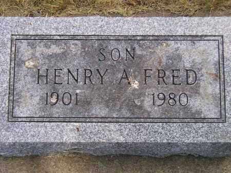 FRED, HENRY A. - McCook County, South Dakota | HENRY A. FRED - South Dakota Gravestone Photos