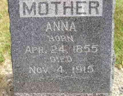 GIPSON, ANNA - McCook County, South Dakota | ANNA GIPSON - South Dakota Gravestone Photos