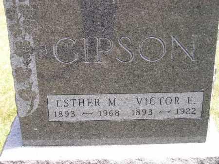 GIPSON, VICTOR E. - McCook County, South Dakota | VICTOR E. GIPSON - South Dakota Gravestone Photos