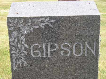 GIPSON, FAMILY STONE - McCook County, South Dakota | FAMILY STONE GIPSON - South Dakota Gravestone Photos