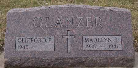 GLANZER, CLIFFORD P - McCook County, South Dakota | CLIFFORD P GLANZER - South Dakota Gravestone Photos