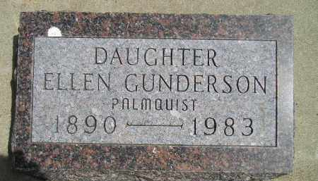 GUNDERSON, ELLEN - McCook County, South Dakota | ELLEN GUNDERSON - South Dakota Gravestone Photos