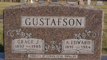GUSTAFSON, GRACE J - McCook County, South Dakota | GRACE J GUSTAFSON - South Dakota Gravestone Photos