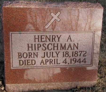 HIPSCHMAN, HENRY A. - McCook County, South Dakota | HENRY A. HIPSCHMAN - South Dakota Gravestone Photos