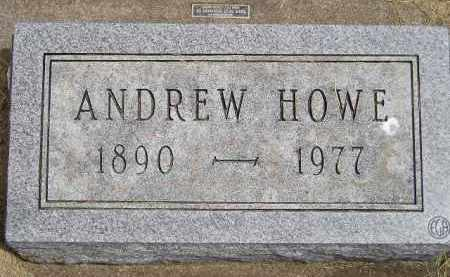 HOWE, ANDREW - McCook County, South Dakota | ANDREW HOWE - South Dakota Gravestone Photos