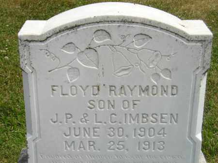 IMBSEN, FLOYD RAYMOND - McCook County, South Dakota | FLOYD RAYMOND IMBSEN - South Dakota Gravestone Photos