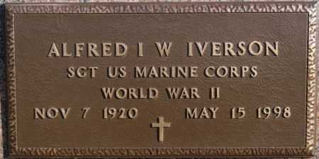 IVERSON, ALFRED I.W. (WW II) - McCook County, South Dakota | ALFRED I.W. (WW II) IVERSON - South Dakota Gravestone Photos