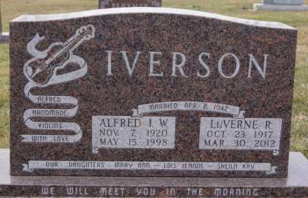 IVERSON, ALFRED I.W. - McCook County, South Dakota | ALFRED I.W. IVERSON - South Dakota Gravestone Photos