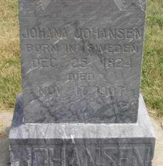 JOHANSEN, JOHANNA - McCook County, South Dakota | JOHANNA JOHANSEN - South Dakota Gravestone Photos