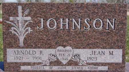 JOHNSON, ARNOLD R - McCook County, South Dakota   ARNOLD R JOHNSON - South Dakota Gravestone Photos
