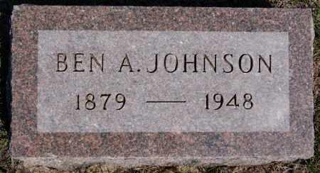 JOHNSON, BEN - McCook County, South Dakota | BEN JOHNSON - South Dakota Gravestone Photos