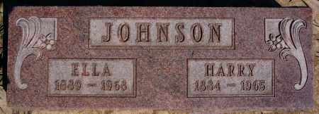 JOHNSON, HARRY - McCook County, South Dakota | HARRY JOHNSON - South Dakota Gravestone Photos