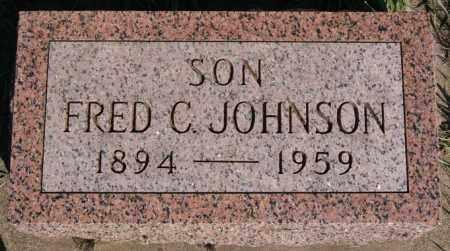 JOHNSON, FRED C - McCook County, South Dakota   FRED C JOHNSON - South Dakota Gravestone Photos