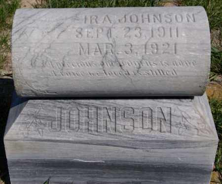 JOHNSON, IRA - McCook County, South Dakota | IRA JOHNSON - South Dakota Gravestone Photos