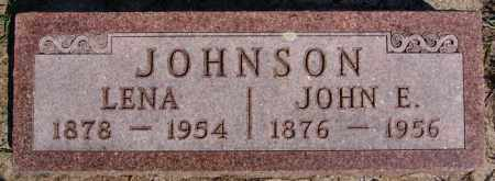 JOHNSON, LENA - McCook County, South Dakota | LENA JOHNSON - South Dakota Gravestone Photos