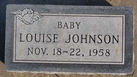JOHNSON, LOUISE - McCook County, South Dakota | LOUISE JOHNSON - South Dakota Gravestone Photos