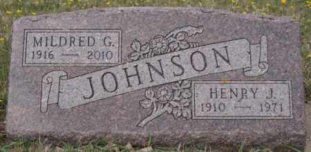 JOHNSON, MILDRED G - McCook County, South Dakota | MILDRED G JOHNSON - South Dakota Gravestone Photos