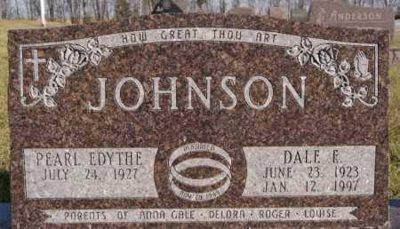 JOHNSON, PEARL EDYTHE - McCook County, South Dakota | PEARL EDYTHE JOHNSON - South Dakota Gravestone Photos