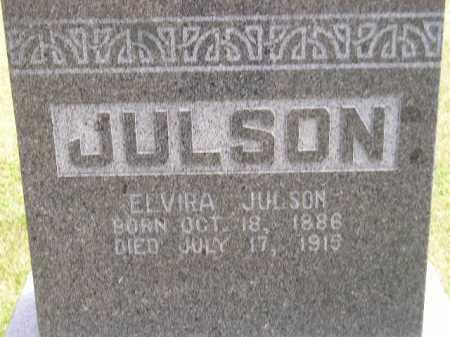 JULSON, ELVIRA - McCook County, South Dakota | ELVIRA JULSON - South Dakota Gravestone Photos