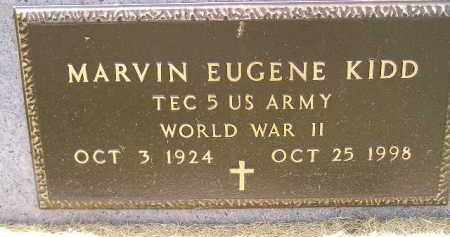 KIDD, MARVIN EUGENE (WW II) - McCook County, South Dakota | MARVIN EUGENE (WW II) KIDD - South Dakota Gravestone Photos