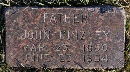 KINZLEY, JOHN - McCook County, South Dakota | JOHN KINZLEY - South Dakota Gravestone Photos
