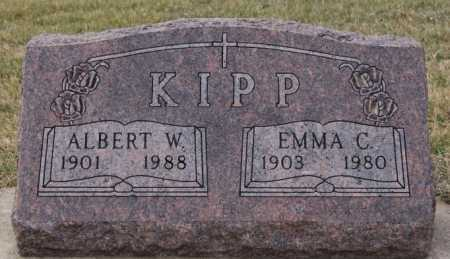 KIPP, ALBERT W - McCook County, South Dakota | ALBERT W KIPP - South Dakota Gravestone Photos