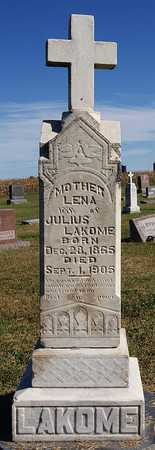 LAKOME, LENA - McCook County, South Dakota | LENA LAKOME - South Dakota Gravestone Photos