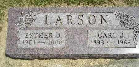 LARSON, ESTHER J. - McCook County, South Dakota | ESTHER J. LARSON - South Dakota Gravestone Photos